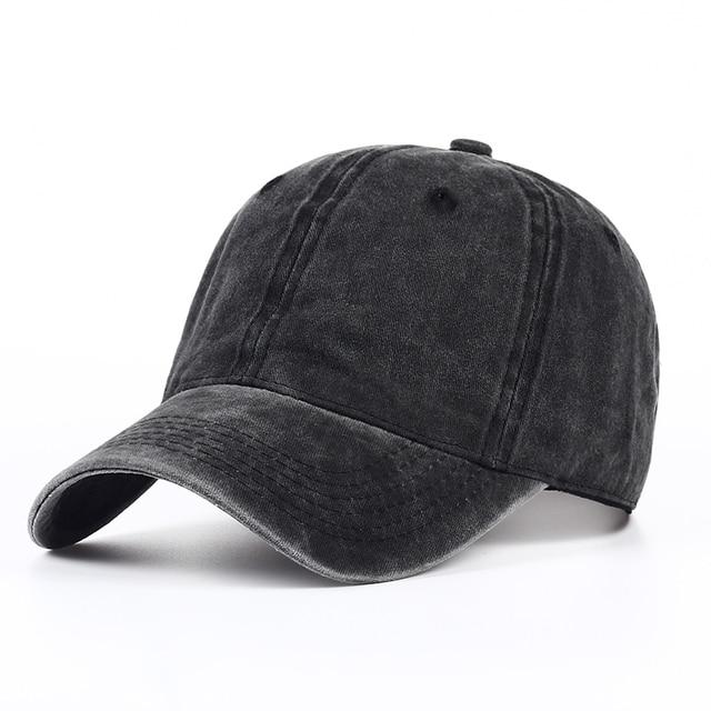 VORON-casquette de baseball en coton | 100%, teinte unie, délavée au sable, casquette souple, vierges, chapeau de papa, pas de broderie, chapeau pour hommes et femmes