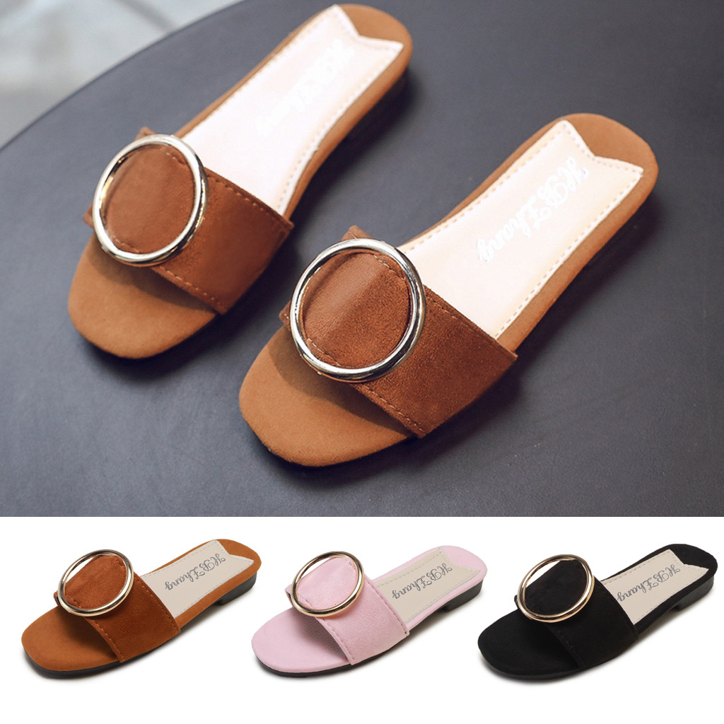 MUQGEW Childrens Sandals Slippers - Korean Version Of Girls Breathable Summer Stylish Casual Shoes SandalsMUQGEW Childrens Sandals Slippers - Korean Version Of Girls Breathable Summer Stylish Casual Shoes Sandals