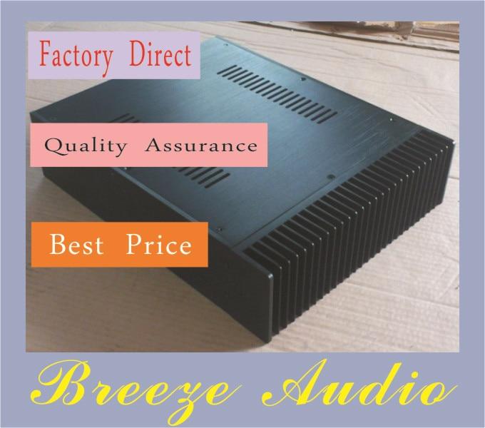 Breeze Audio-A09 Full Aluminum Enclosure / mini AMP case/power amplifier box/ chassis цена