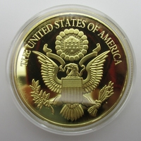 Brass Craft Exquisite American Eagle Gold Coins Liberty Coin Collection