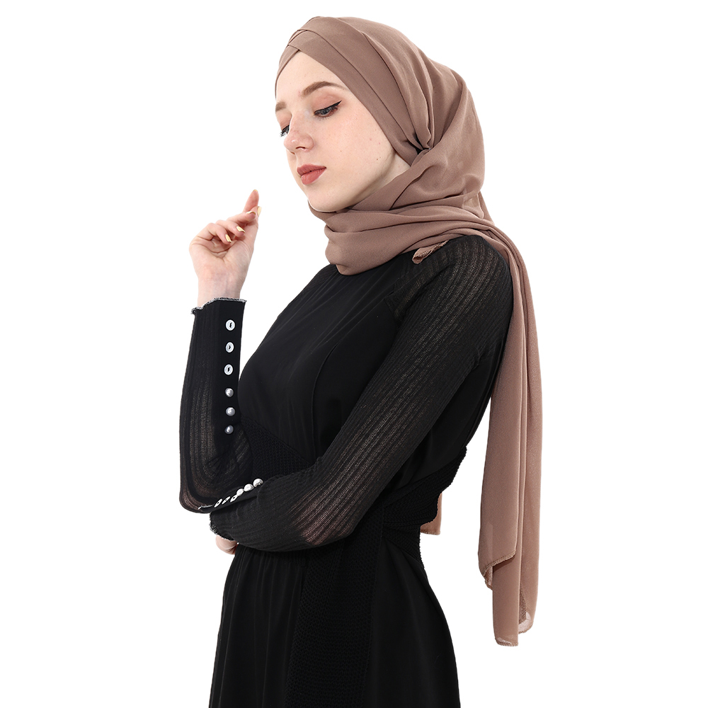 ALI shop ...  ... 33013696602 ... 2 ... 2019 Summer Women's chiffon Ready To Wear Instant Hijab Scarf  Muslim chiffon head scarf Islamic shawls Arab Headscarf ...
