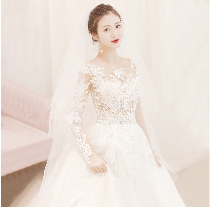 Stock Wedding Dresses Vestidos De Novia Sweetheart Lace Applique Corset Wedding Dress Gowns Robe De Mariage
