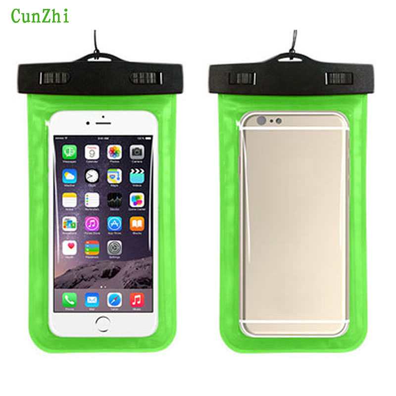 cunzhi Soft PVC 100% Sealed Waterproof Pouch For Umi Hammer S X2 iRon Zero Case Can Touch Underwater Bag