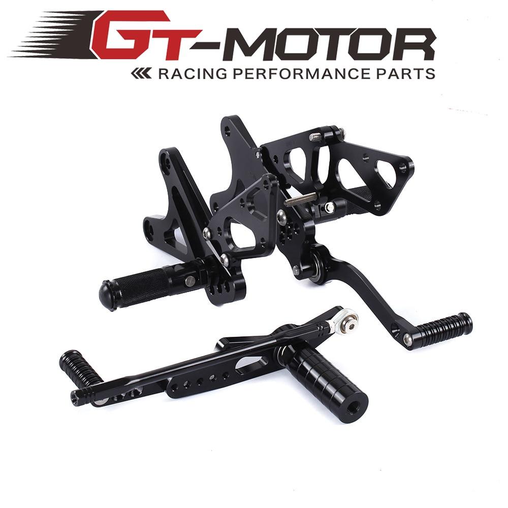 ФОТО GT Motor -Full CNC aluminum Motorcycle Rear Set For YAMAHA R1 2009-2013