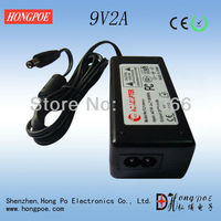 9V2A AC DC Power Adapter CE ROHS