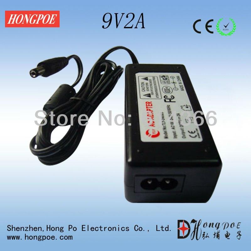 100PCS 12V 9V Adapter 9V 12V 2A 2000mA 100 240VAC+ UK US EU AU plug DC9V2A DC12V 2A