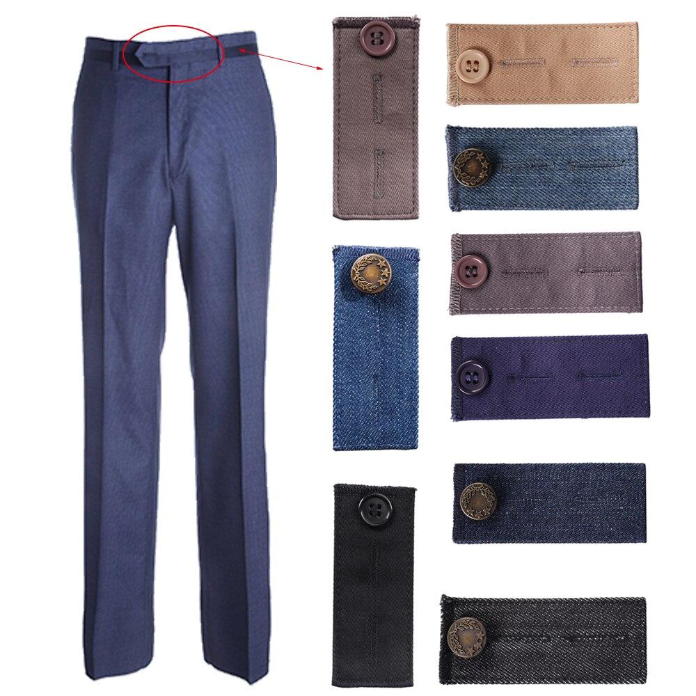 Garment Accessories Maternity Pant Extender Belt Button Waist Band Hooks