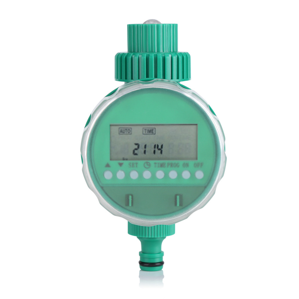 Automatic Intelligent Electronic LCD Display Home Ball Valve Watering Timer Garden Water Timer Irrigation Controller System(China)