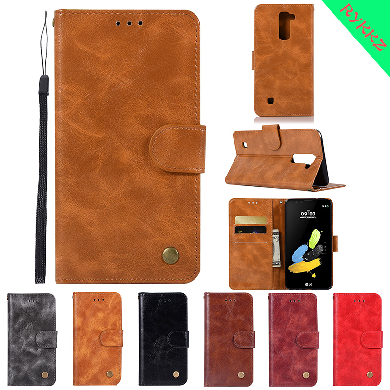 Case For LG K10 LGK10 Let 2016 LGK430 K410 K420n K430 K430DS Flip phone bag for LG K 10 K 420n 2016 Phone Leather Cover