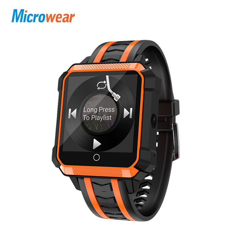 H7 reloj inteligente impermeable de los hombres reloj inteligente Android 4G Bluetooth deporte Smartwatch Android impermeable Mtk6737 Cámara al aire libre reloj