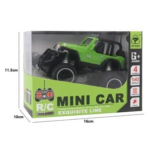 Image 5 - Neue Sport Wissenschaft 1:32 kinder Spielzeug Auto Fernbedienung Auto Modell 3C Elektro Off road Fahrzeug Pädagogisches Jungen und Mädchen Spielzeug