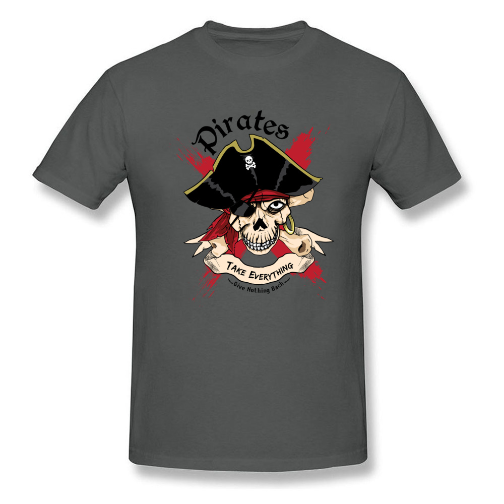 Family PIRATE Normal Short Sleeve T Shirt Lovers Day O-Neck Cotton Fabric Tops T Shirt for Boys T Shirt Casual PIRATE carbon