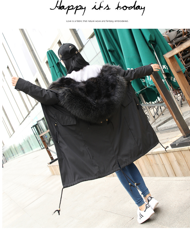 Piecon Ferret 39 s Fur Fur Inner Gallbladder Overcoat Women 39 s Knee length Overcoat in Real Fur from Women 39 s Clothing