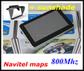 cheapest! 5 inch car GPS Navigator with GPS sunshade shield 128M DDR 800Mhz CPU with 2016 maps or Russia Navitel 9.1 maps