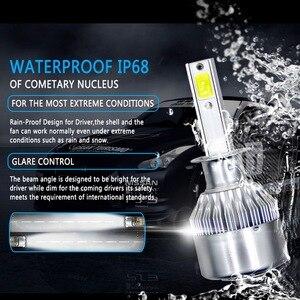 Image 4 - 2PCs 9 36V LED C6 Car  Headlight LED Light 36W Automatic Headlamp 6000K Light H1 H3 H7 H11 H13 9004 9005 9006 36W 3800LM Bulb