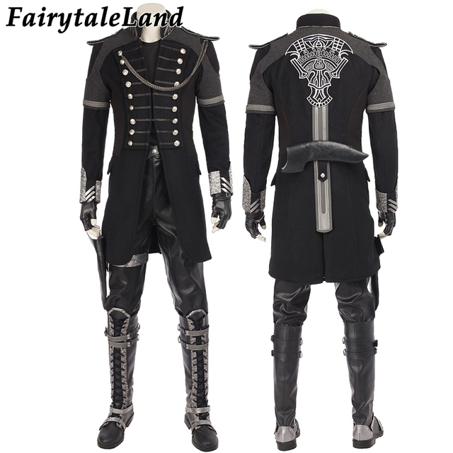 Kingsglaive Final Fantasy XV Nyx Ulric cosplay costume Halloween costumes for adult men cosplay Nyx Jacket costume suit