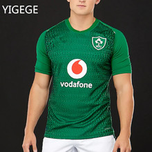 9d91f5d7e3c YIGEGE Ireland IRFU jersey 2019 2020 home shirt bosphorus Irish rugby  Jerseys League rugby shirt s