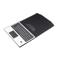 """Aluminum Wireless Bluetooth Keyboard Case Cover Touchpad For Samsung Galaxy Tab 2 3 4 10.1"""" P5100 P5110 P5200 P5210 T530 T535