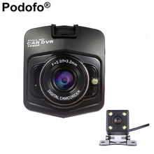 Original Novatek Car DVR GT300 Dual Lens Full HD 1080P Video Registrator Night Vision 170 Degree