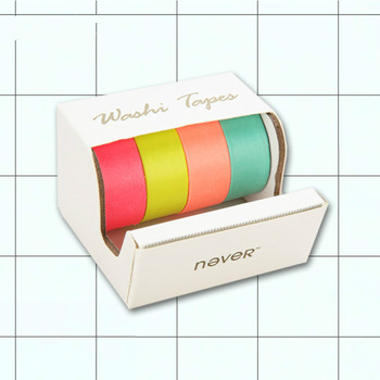 multicolour masking paper tape combination small fresh fashion office stationery washi tape washi paper tape