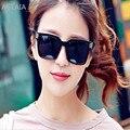 Gafas de sol de las mujeres de Vogue de nuevo fondo de 2016 clásico cuadro de gafas de sol reflectantes gafas de sol de protección uv gafas de sol gafas