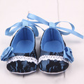 Festival Flower Baby Shoes Newly Born Infant Baby Girls First Walkers Kid Shoes 0-1 Years New