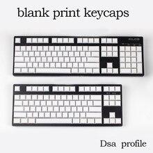 Puste pbt nasadki klawiszy dsa profil dla wried mechaniczne gaming keyboard 104 klawisze 87 klawisze filco ducky gass