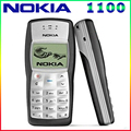 Самый дешевый в Исходном Nokia 1100 Mobile Phone Unlocked GSM900/1800 МГц мобильный телефон с нескольких языков 1 Год Гарантии бесплатная доставка