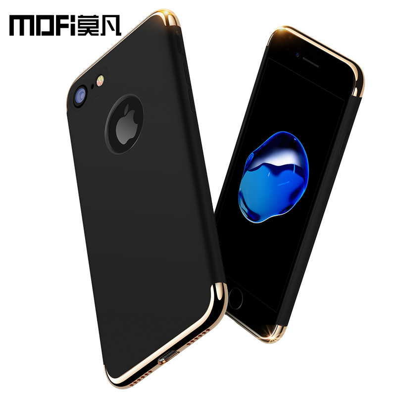 "MOFi for iPhone 7 case iphone7 glitter full cover 4.7 inch bumper black luxury case back for iphone 7P 5.5"" for men women apple"