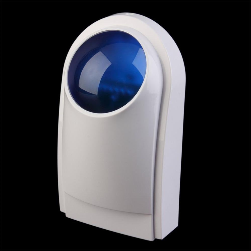 цены на Outdoor Waterproof Flash Siren Alarm Sound Strobe Flash Alarm Siren For Wif GSM PSTN Home Security Alarm System в интернет-магазинах