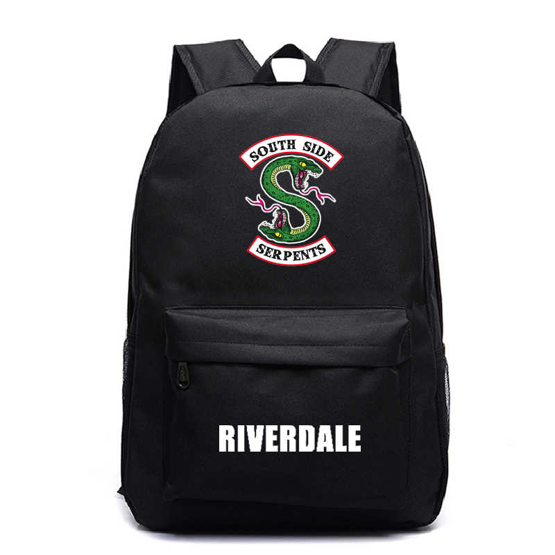 Cute Riverdale Galaxy Backpack Schoolbag for Teenager Boys Girls Casual Travel Bag Children Kids Cool Book Bag