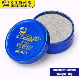 Image 4 - MECHANIC Soldering Tip Refresher Clean Paste for Oxide Solder Iron Tip Head Resurrection Cream Soldering Accessory