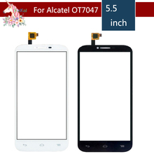 For Alcatel One Touch POP C9 7047 7047D OT 7047 OT7047 Touch Screen Digitizer Sensor Outer Glass Lens Panel Replacement