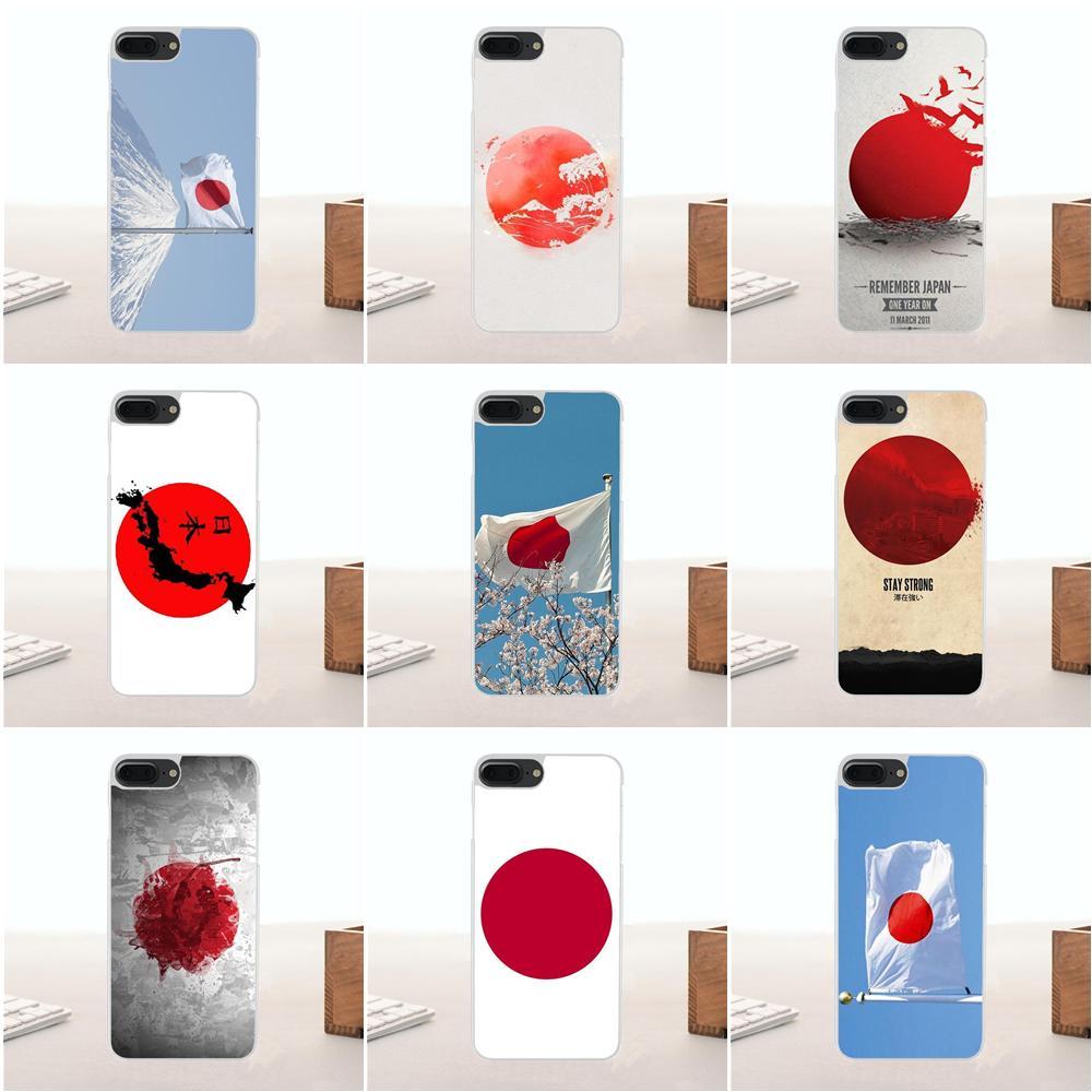 Bixedx Jepang Jp Jepang Rising Sun Bendera Lembut Ponsel Case Cover Untuk Apple Iphone 4 4s 5 5c Se 6 6s 7 7 Plus X Setengah Dibungkus Kasus Aliexpress