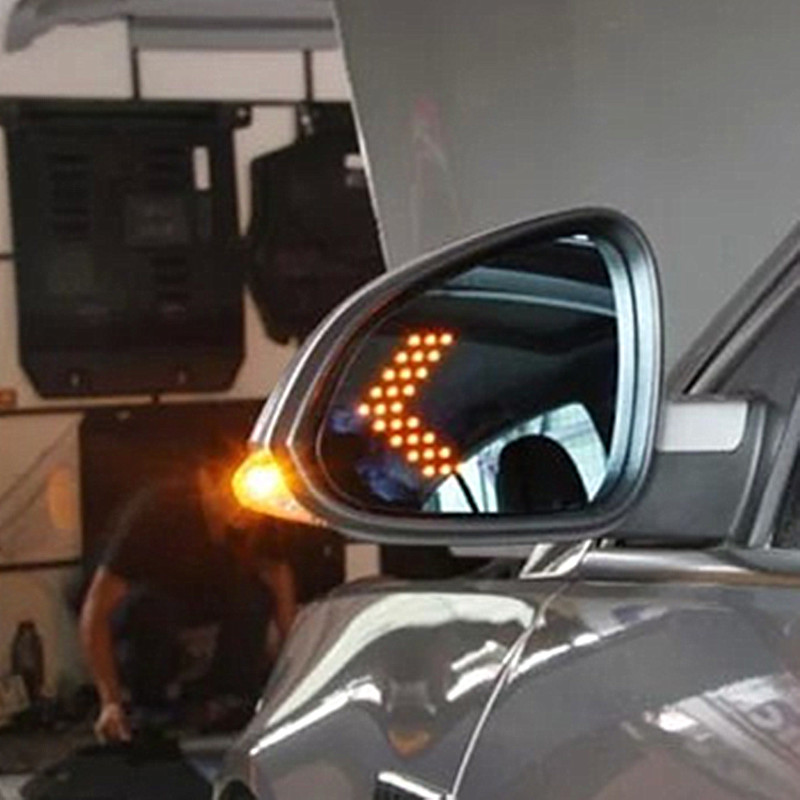 99 Buick Regal Gs: Power Heated Blue Wide Angle Sight Side Rear View Mirror