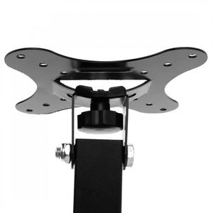 Image 3 - 10KG Adjustable 14 27 Inch TV Wall Mount Bracket Flat Panel TV Frame Support 15 Degrees Tilt with Small Wrench for LED Monitor