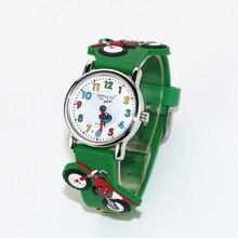 MINI Bike 3D Band Sample Design Little Woman Youngsters College students Boy Girls Wrist Watch Waterproof Clock Reloj