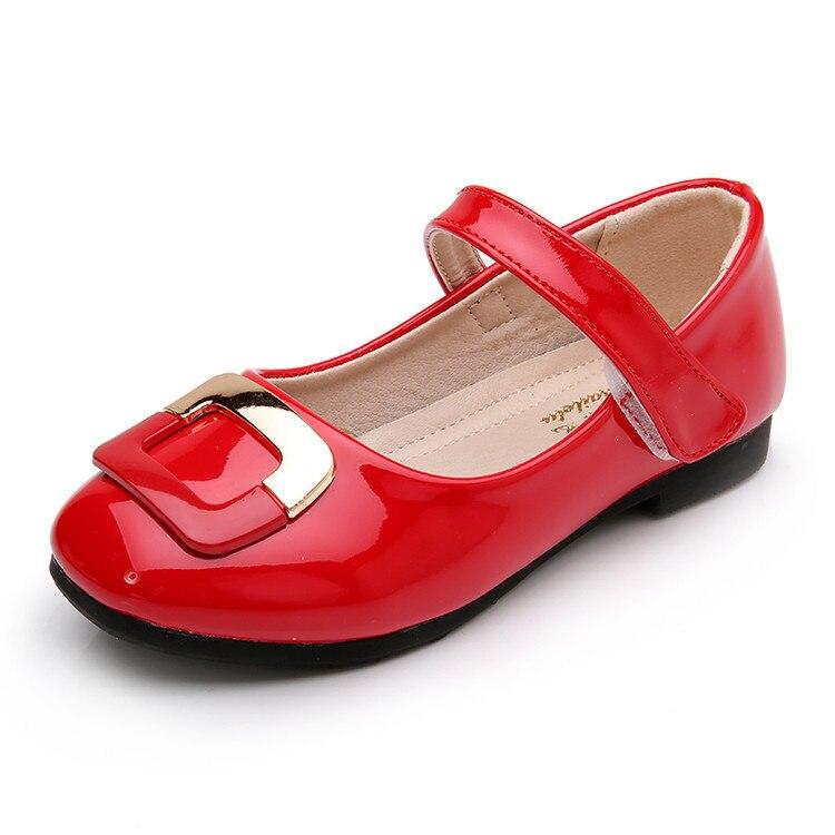 2017 Musim Semi Anak Sepatu Gadis Sepatu Merek Fashion Desainer Putri Sandal Sepatu Anak-anak Untuk Anak Perempuan Sepatu Kulit