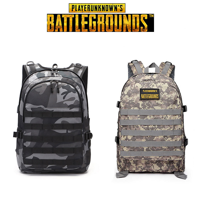 <font><b>PUBG</b></font> <font><b>Backpack</b></font> Cosplay Props Level 3 <font><b>Backpack</b></font> Travel Bag Camouflage Women Men Gifts PLAYERUNKNOWN'S BATTLEGROUNDS image