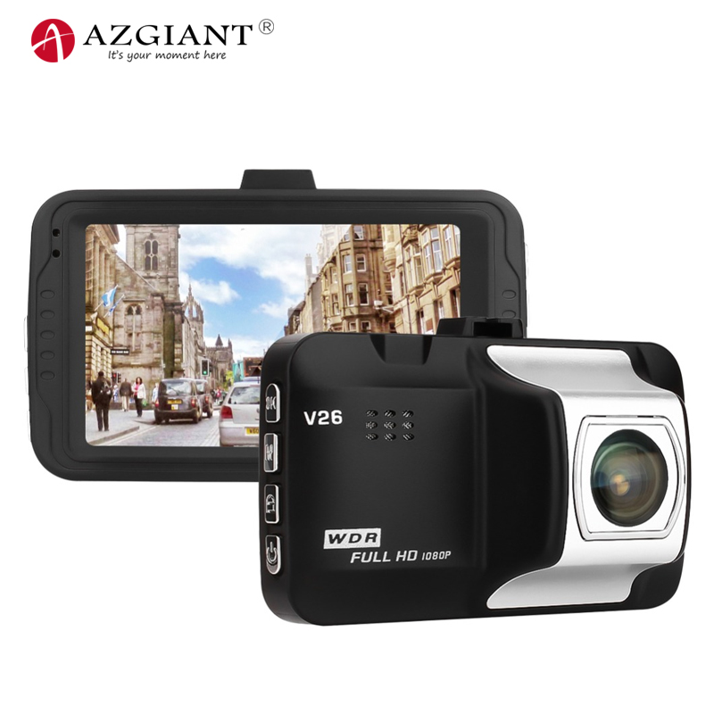 AZGIANT Car-Dvr-Camera Video-Registrars Dashcam G-Sensor Cars Night-Vision Full-Hd 1080P