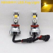 LED Fog Light H8 H9 H11 LED Foglamp Bulb Car Fog lamp 3000K Amber LED Lights