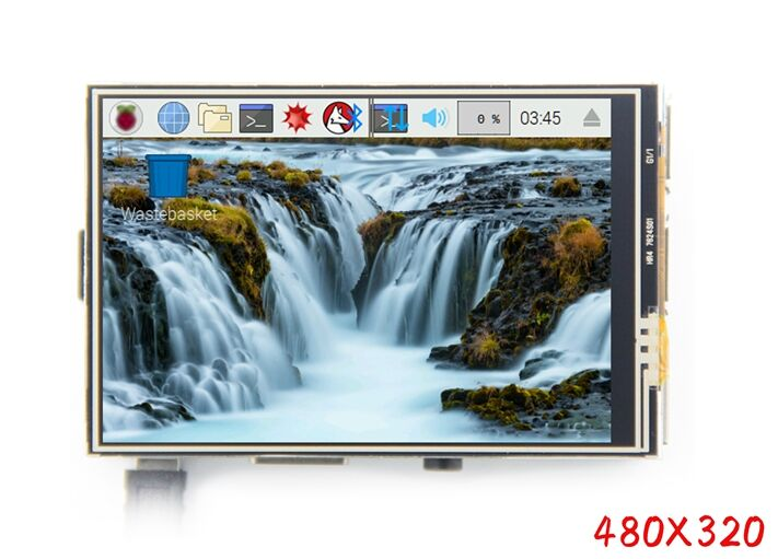 New 3.5 Inch Display For Raspberry Pi 3 Touch Screen Display 480x320 TFT 3.5