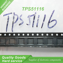 10pcs free shipping TPS51116 51116 QFN DDR1, DDR2, DDR3 switch and LDO 100% new original quality assurance