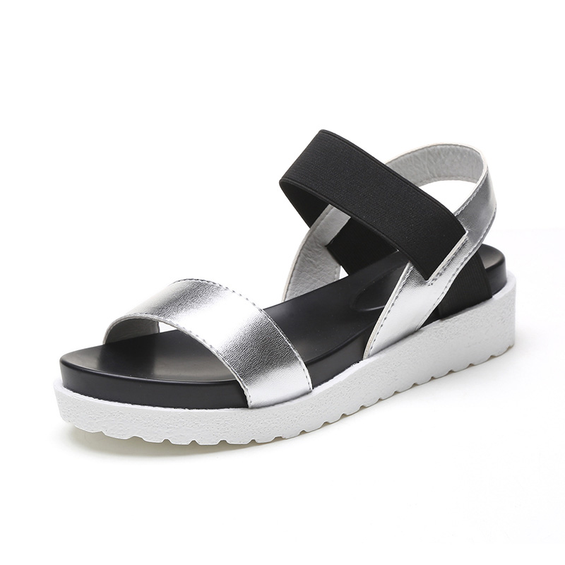 New Gladiator Women flat shoes sandals peep-toe