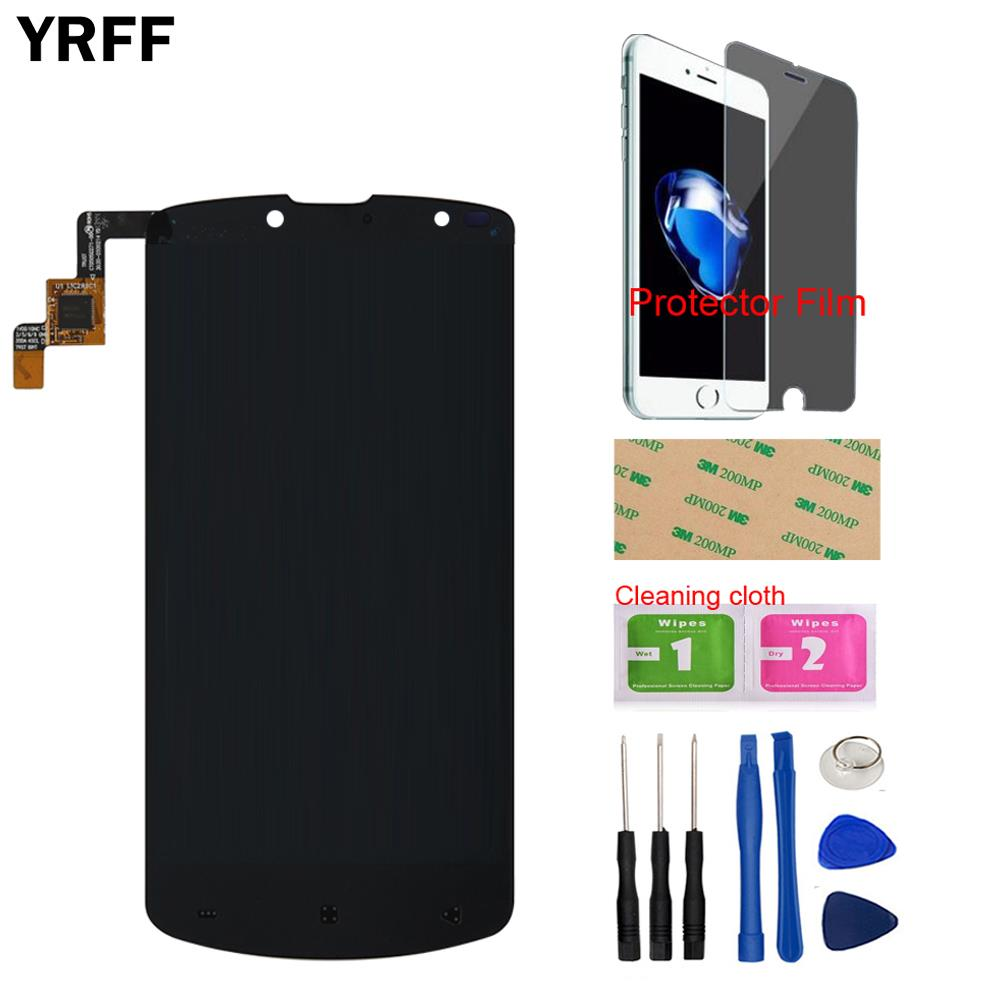 LCD Display Touch Screen Glass Digitizer Assembly Repair For Prestigio MultiPhone PAP 7500 LCD Dispaly Free Tools Protecotr Film