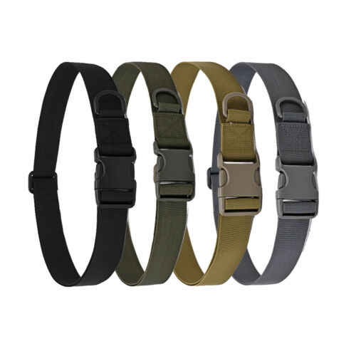 140 centimetri x Army Heavy Duty Militare di Combattimento Tattico Cintura A Sgancio Rapido Cintura Accessori Per Esterni