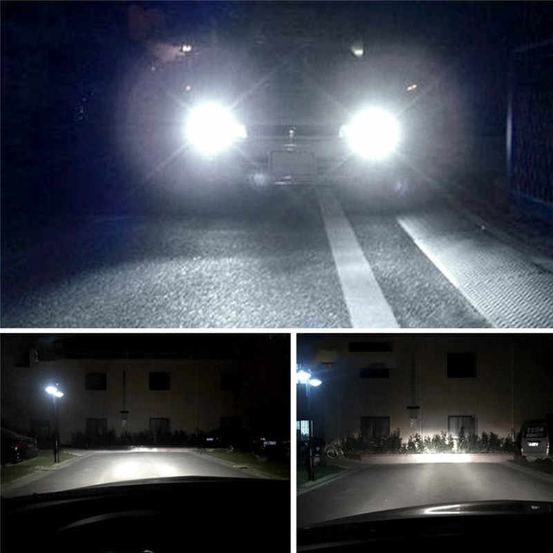 2pcs Super Bright C6 Bulb Car Headlights 72W COB H7 H11 H13 9005 9006 9007 Auto Cars LED Fog Lights Universal Car Styling