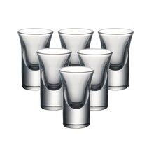 YARDHOUSE 0,8 унций набор из 6CS рюмки машина без свинца кристалл свадебный ликер очки ликер стекло