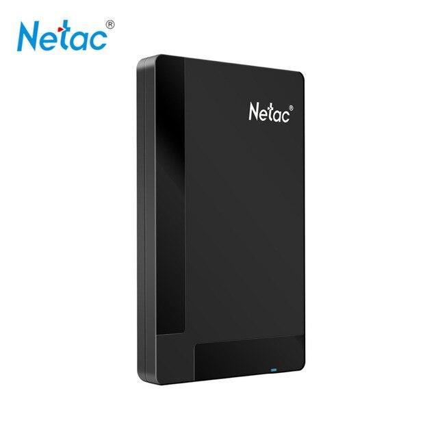 Netac Оригинальный K218 USB 3.0 Внешний Жесткий Диск 1 ТБ 500 ГБ HDD HD Жесткий Диск Устройства Хранения с розничная упаковка