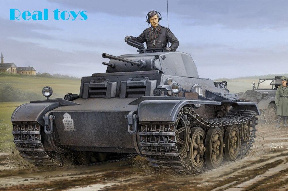 Hobby Boss model 83803 1 35 German Pzkpfw II Ausf J VK16 01 plastic model kit
